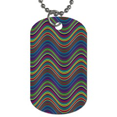 Decorative Ornamental Abstract Dog Tag (Two Sides)