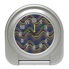 Decorative Ornamental Abstract Travel Alarm Clocks