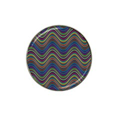Decorative Ornamental Abstract Hat Clip Ball Marker (4 Pack)