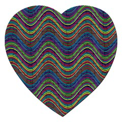 Decorative Ornamental Abstract Jigsaw Puzzle (Heart)