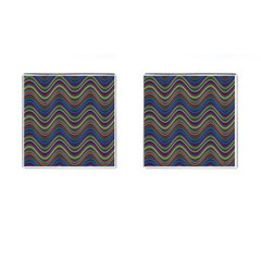 Decorative Ornamental Abstract Cufflinks (Square)