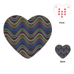 Decorative Ornamental Abstract Playing Cards (Heart)