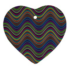 Decorative Ornamental Abstract Heart Ornament (Two Sides)