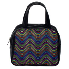 Decorative Ornamental Abstract Classic Handbags (One Side)