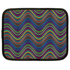 Decorative Ornamental Abstract Netbook Case (XL)