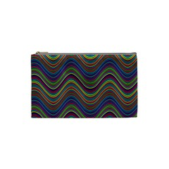Decorative Ornamental Abstract Cosmetic Bag (Small)