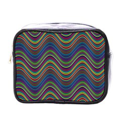 Decorative Ornamental Abstract Mini Toiletries Bags