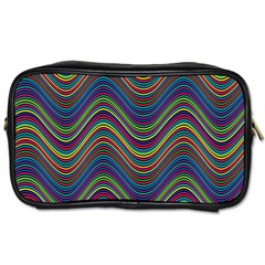 Decorative Ornamental Abstract Toiletries Bags 2-Side