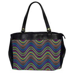 Decorative Ornamental Abstract Office Handbags (2 Sides)