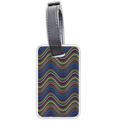Decorative Ornamental Abstract Luggage Tags (One Side)