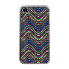 Decorative Ornamental Abstract Apple iPhone 4 Case (Clear)
