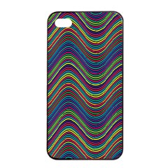 Decorative Ornamental Abstract Apple iPhone 4/4s Seamless Case (Black)