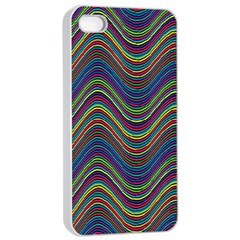 Decorative Ornamental Abstract Apple iPhone 4/4s Seamless Case (White)