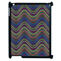 Decorative Ornamental Abstract Apple iPad 2 Case (Black)