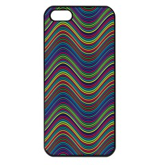 Decorative Ornamental Abstract Apple iPhone 5 Seamless Case (Black)
