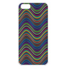 Decorative Ornamental Abstract Apple iPhone 5 Seamless Case (White)