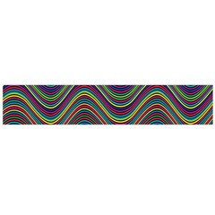 Decorative Ornamental Abstract Flano Scarf (Large)