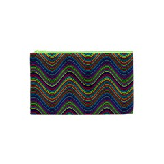 Decorative Ornamental Abstract Cosmetic Bag (XS)