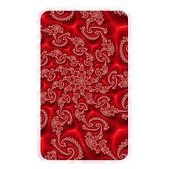 Fractal Art Elegant Red Memory Card Reader