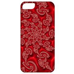 Fractal Art Elegant Red Apple iPhone 5 Classic Hardshell Case