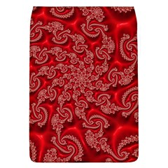 Fractal Art Elegant Red Flap Covers (L)