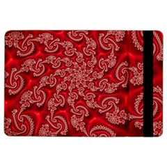 Fractal Art Elegant Red iPad Air 2 Flip