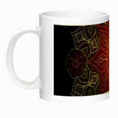 Floral Kaleidoscope Night Luminous Mugs