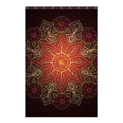 Floral Kaleidoscope Shower Curtain 48  x 72  (Small)