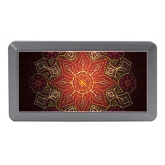Floral Kaleidoscope Memory Card Reader (Mini)