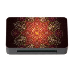 Floral Kaleidoscope Memory Card Reader with CF