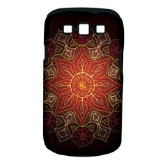 Floral Kaleidoscope Samsung Galaxy S III Classic Hardshell Case (PC+Silicone)