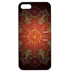 Floral Kaleidoscope Apple iPhone 5 Hardshell Case with Stand