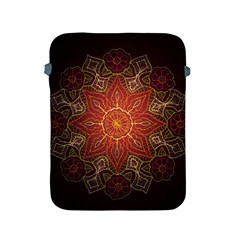 Floral Kaleidoscope Apple iPad 2/3/4 Protective Soft Cases