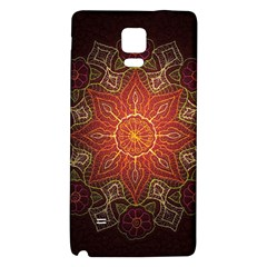 Floral Kaleidoscope Galaxy Note 4 Back Case