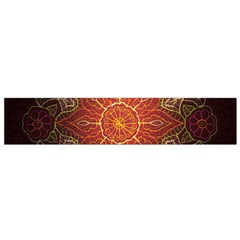 Floral Kaleidoscope Flano Scarf (small)