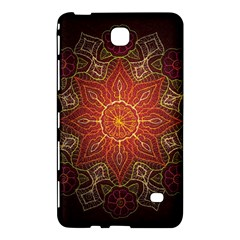 Floral Kaleidoscope Samsung Galaxy Tab 4 (8 ) Hardshell Case