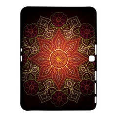 Floral Kaleidoscope Samsung Galaxy Tab 4 (10 1 ) Hardshell Case