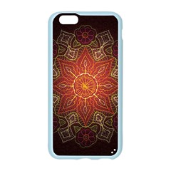Floral Kaleidoscope Apple Seamless iPhone 6/6S Case (Color)