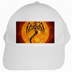 Dragon Fire Monster Creature White Cap