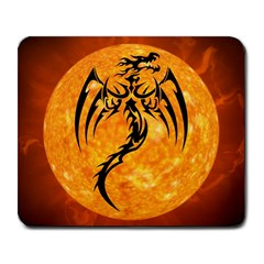 Dragon Fire Monster Creature Large Mousepads