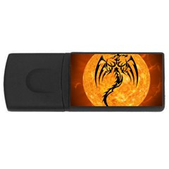 Dragon Fire Monster Creature USB Flash Drive Rectangular (1 GB)