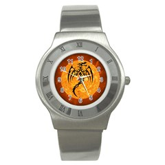 Dragon Fire Monster Creature Stainless Steel Watch