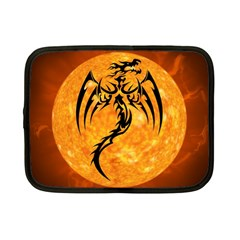 Dragon Fire Monster Creature Netbook Case (Small)