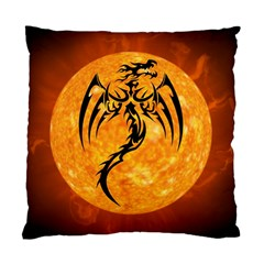 Dragon Fire Monster Creature Standard Cushion Case (one Side)