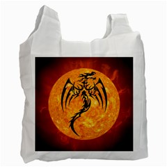 Dragon Fire Monster Creature Recycle Bag (Two Side)