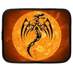 Dragon Fire Monster Creature Netbook Case (XXL)