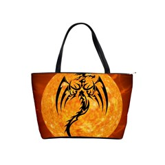 Dragon Fire Monster Creature Shoulder Handbags