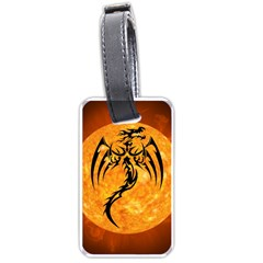 Dragon Fire Monster Creature Luggage Tags (One Side)