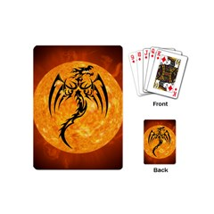 Dragon Fire Monster Creature Playing Cards (Mini)