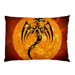 Dragon Fire Monster Creature Pillow Case (Two Sides)